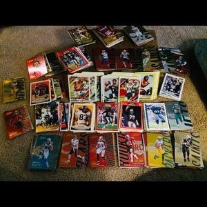 Other - 200+ Football Trading Cards
